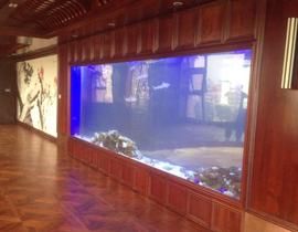 酒店大型鱼缸